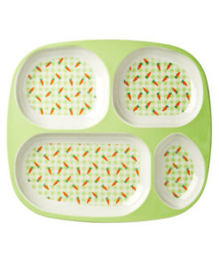 Carrot meal tray Rice