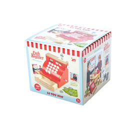 Le toy van wooden cash register box