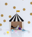mini circus box black
