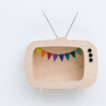 up warsaw wooden tv shelf