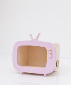 mini tv shelf pink by up warsaw