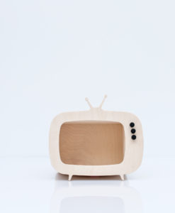 up warsaw mini tv box wooden
