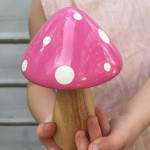 fairy toadstool light pink