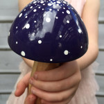 purple fairy toadstool
