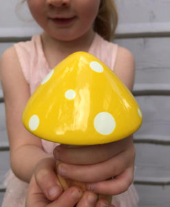 yellow fairy toadstool