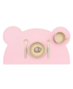 bear placie powder pink