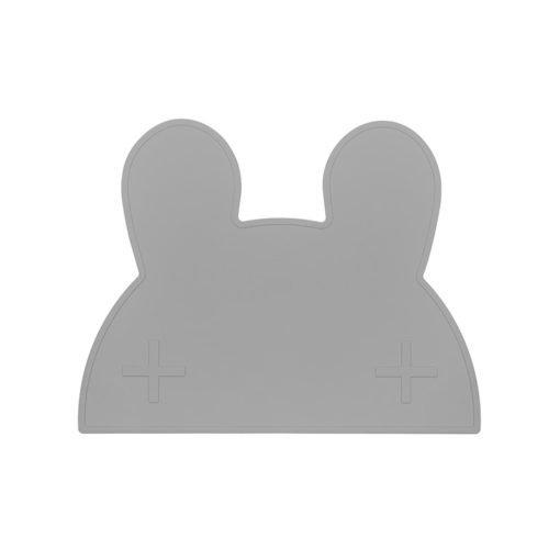 bunny placemat grey