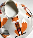 dapper fox dribble bib