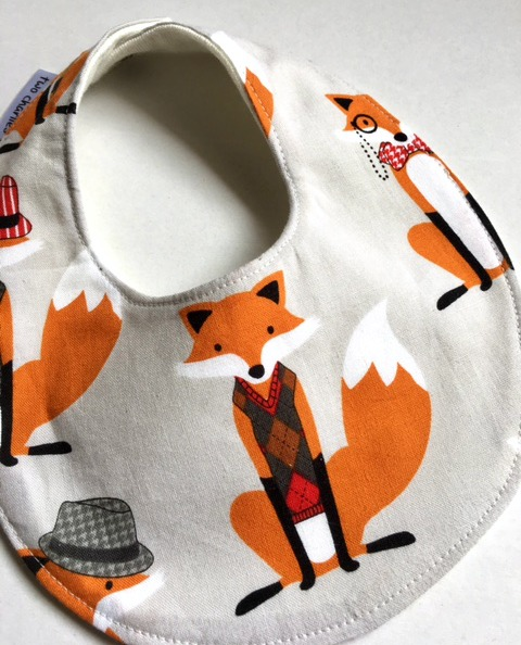 fox dribble bib