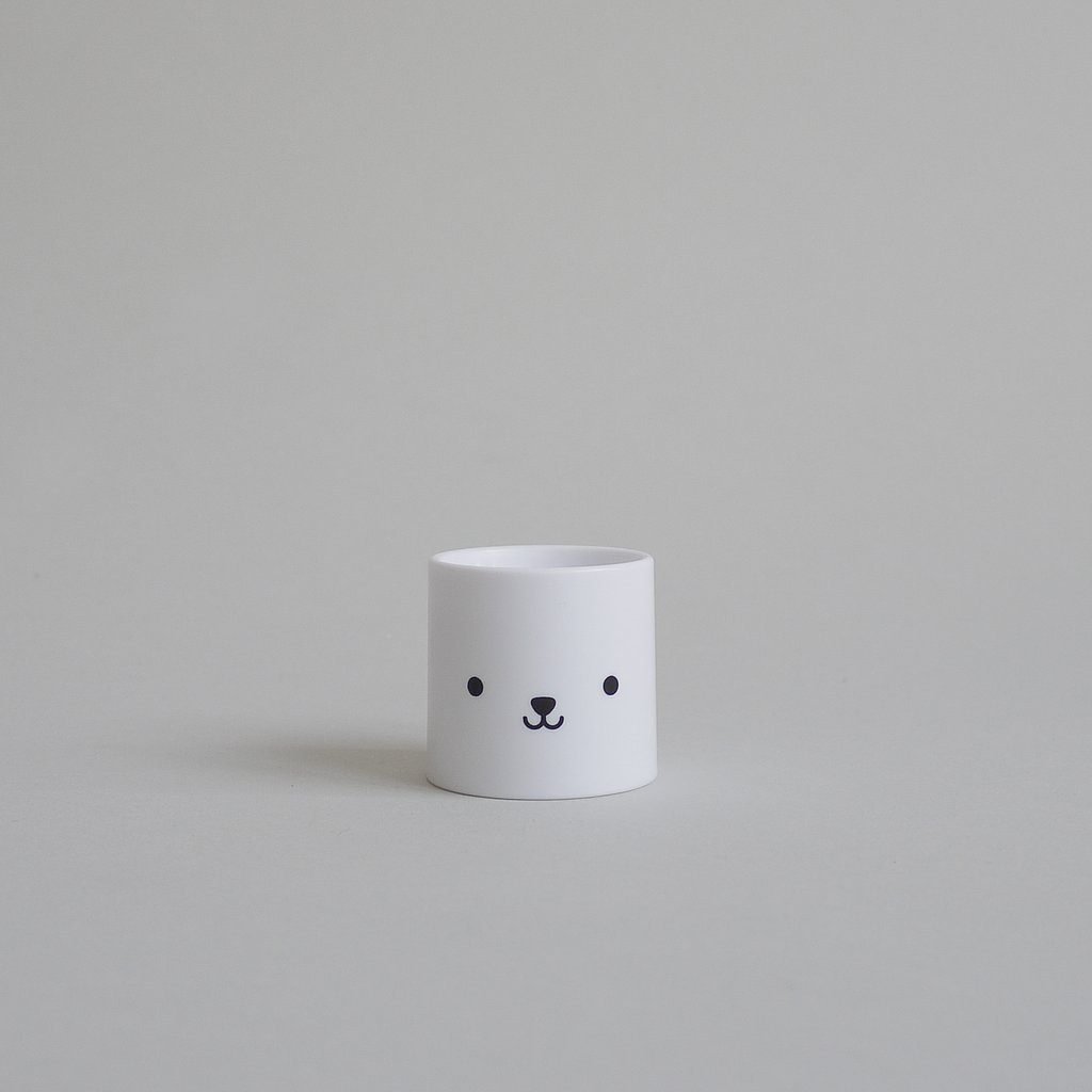 kids egg cup by buddy and bear