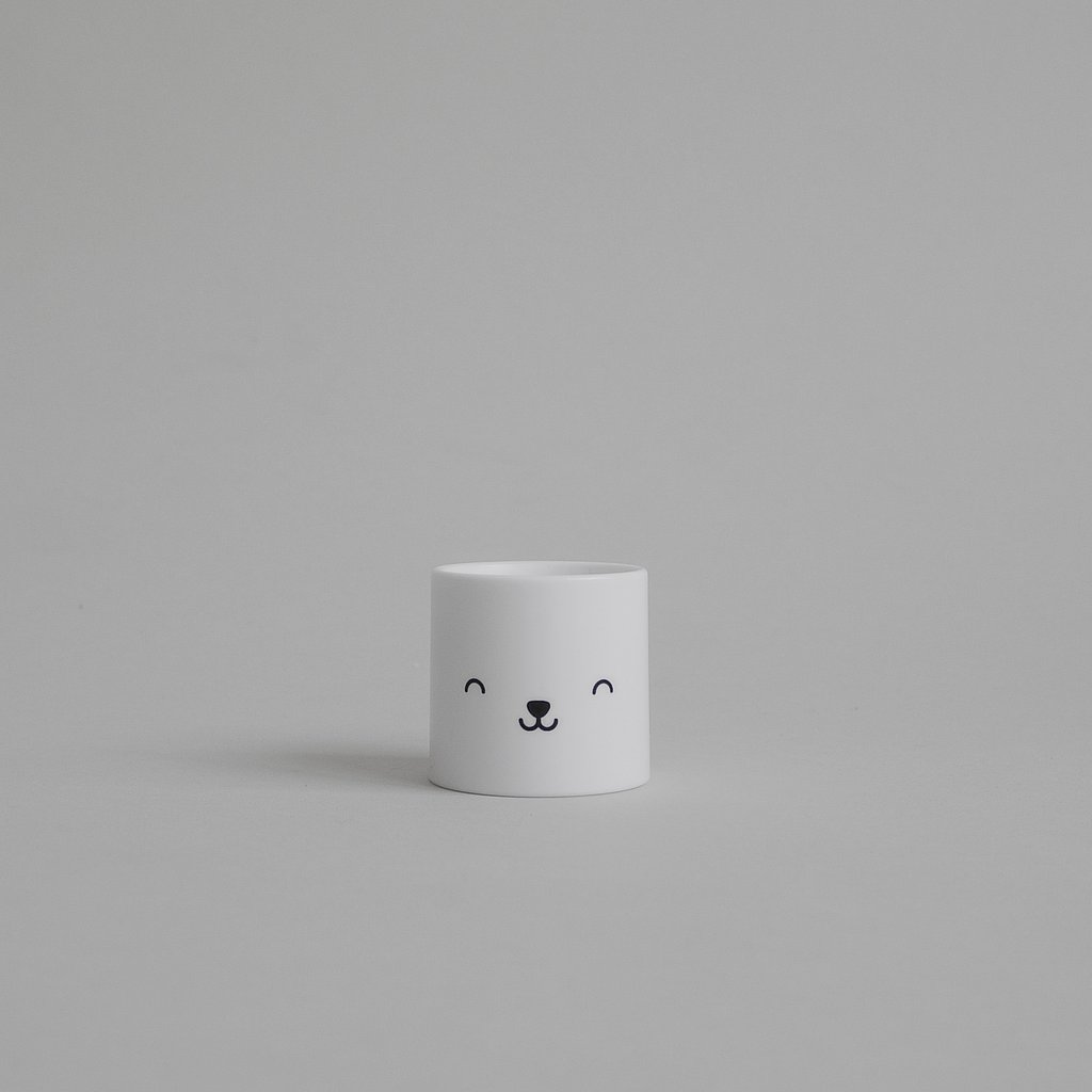 bear egg cup by buddy and bear