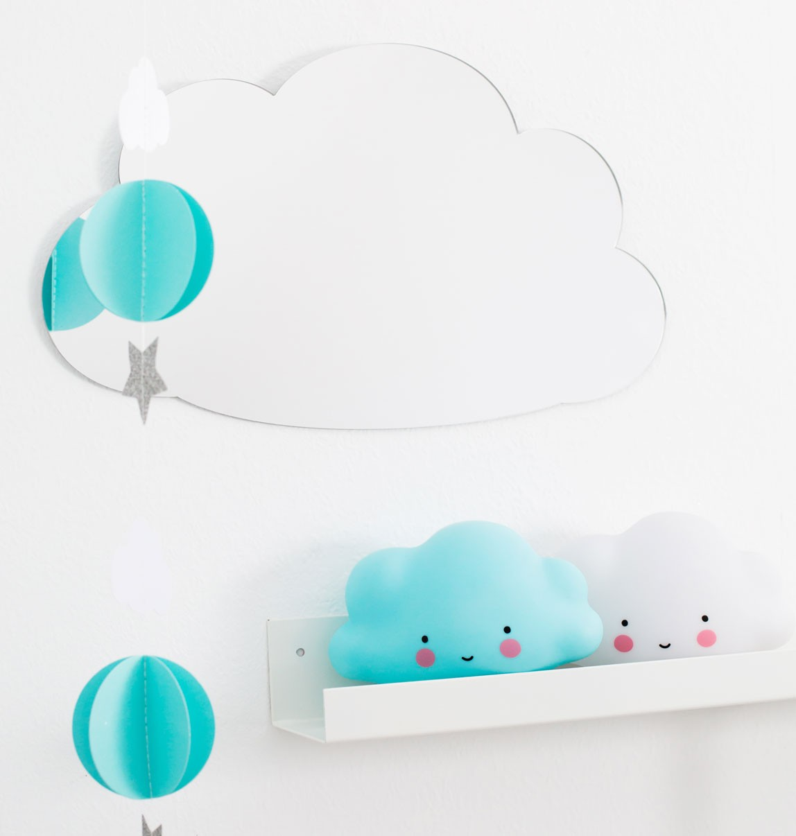 party garland blue